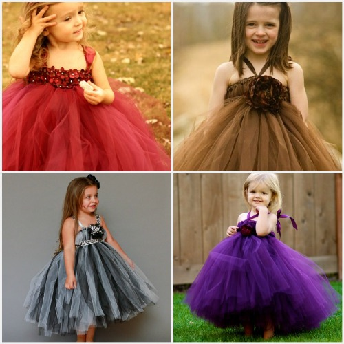 flower girl tutu dresses pinterest