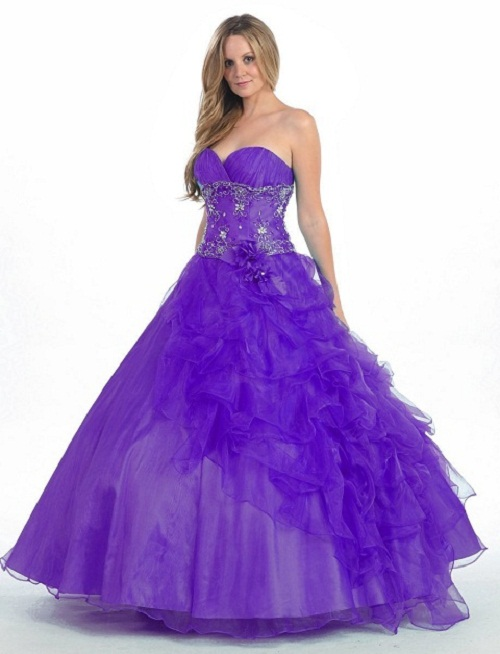 long puffy prom dresses 2011