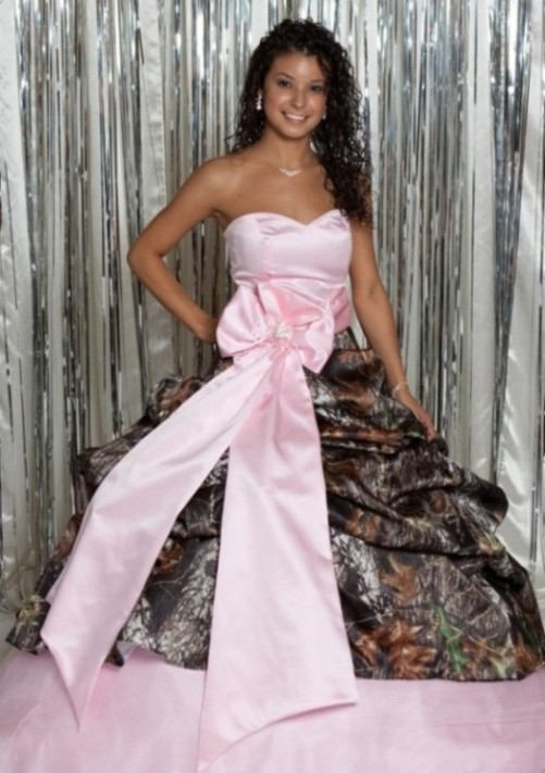 pink camo dresses for women