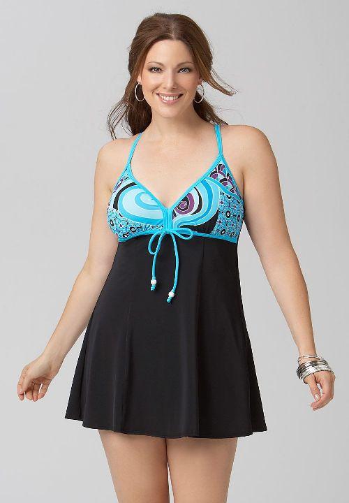 plus size beachwear ideas