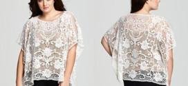 Plus Size Lace Tops Ideas