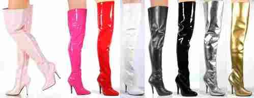 plus size thigh boots uk