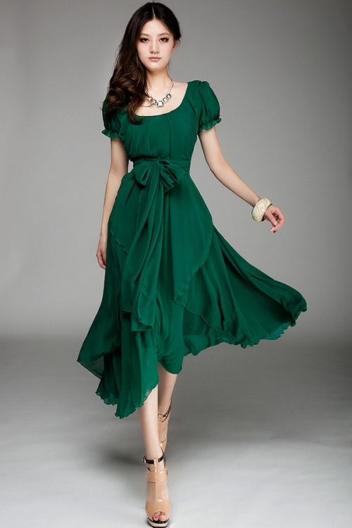 Short Dresses With Sleeves For Ager