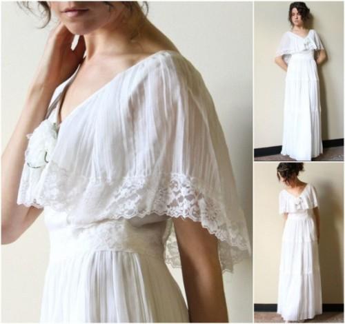 vintage bohemian bridesmaids dresses