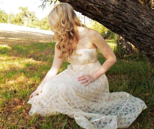 vintage bohemian wedding gown