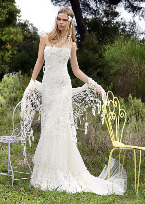 Wedding Dress Bohemian Lace