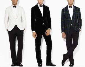 fashionable evening wear for men