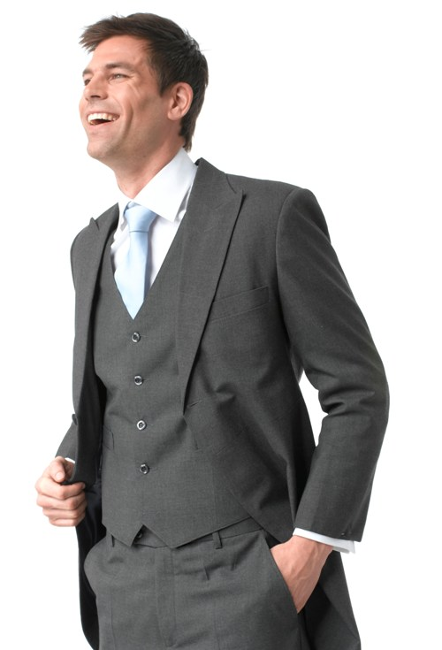 grey wedding suits for men