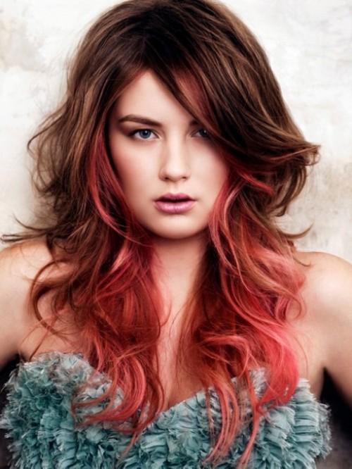 hair with highlights photos