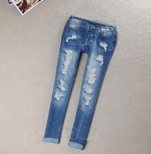 Ripped Jeans For Women Tumblr Di Candia Fashion