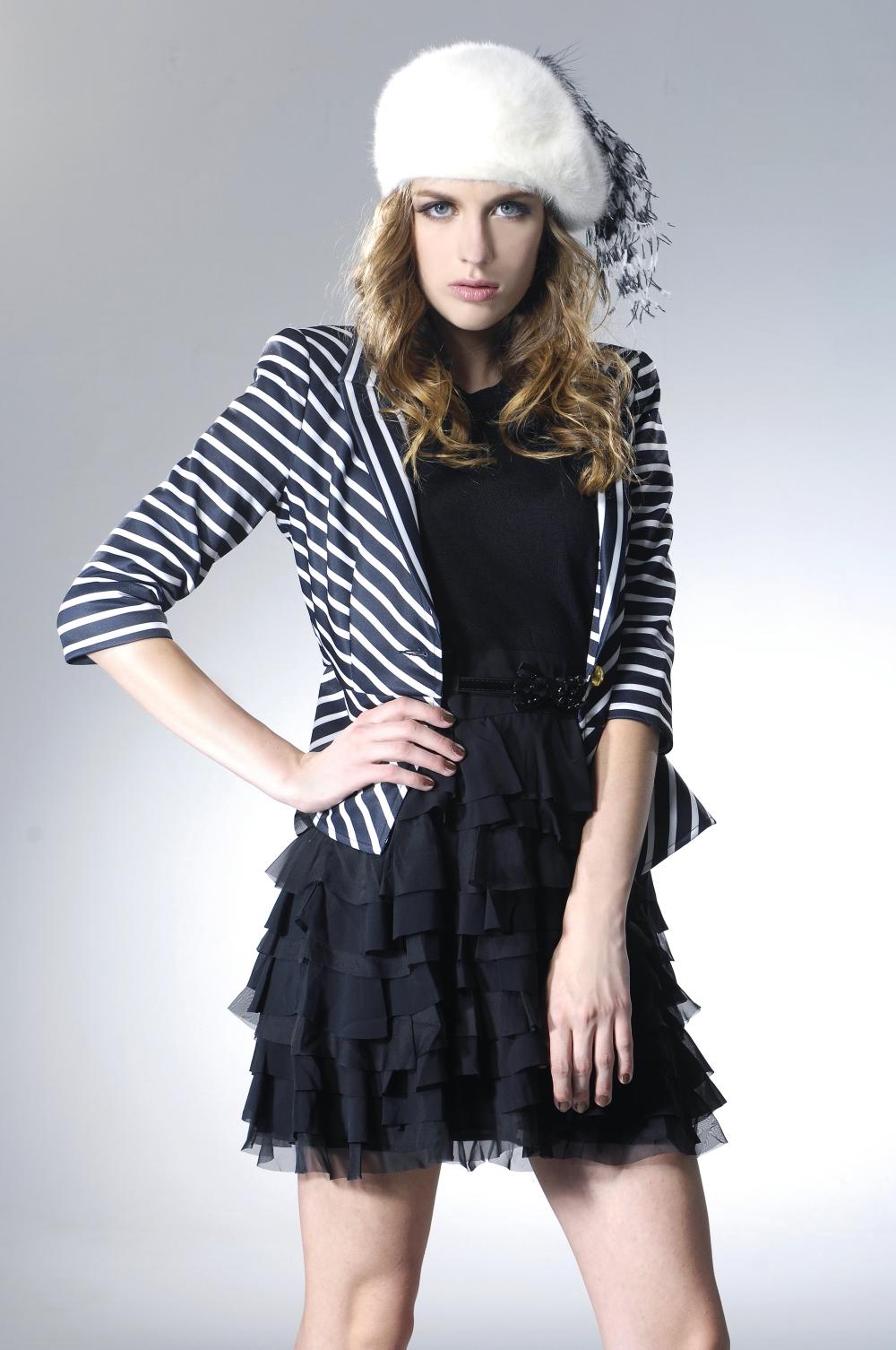 fashionable winter dress